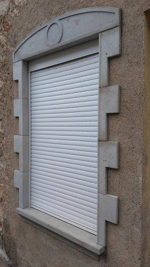 L'encadrement d'une fenêtre