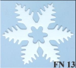 Flocon de neige 13