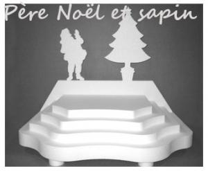 PÈRE NOEL et SAPIN
