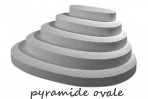 PYRAMIDE OVALE