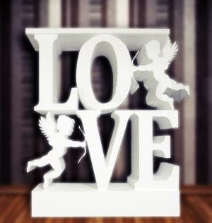 love avec cupidons