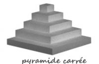 PYRAMIDE CARRÉE